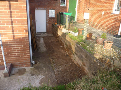 bricks rubble clearance after