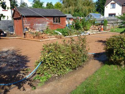 bulk soil disposal after