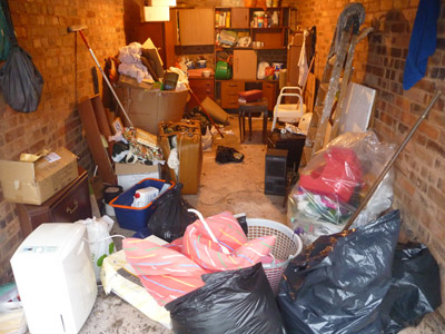 garage clearance before