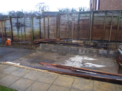 garage demolition and clearance after - all for 20% less than skip hire in Devon.