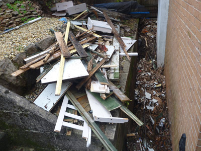 garage building clearance before